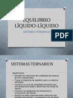 EQUILIBRIO LÍQUIDO-LÍQUIDO