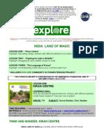 Explore India1 Curriculum