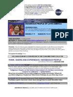 Latin Pulse-Indigenous Curriculum