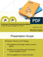 Evolving Personalized Learning Sphere