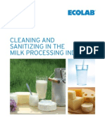 Cleaning and Sanitizing in the Milk Processing Industry 2010 (1)