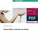 Hansgrohe Duchas Fijas y Sistemas de Ducha Planificacion e Instalacion