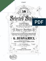 Bertini.- 50 Selected Studies From Opus 100,29,32 & 134
