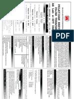 Brosur & Form Brevet AB Lab E-SPT MOI 3.4