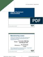 10 Overall Equipment Effectiveness