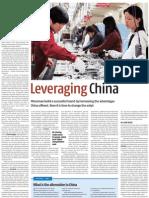 Leveraging China