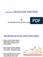 Neuromuscular Junction by Dr. Roomi