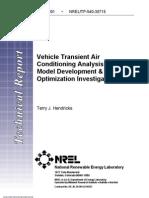 Vehicle Transient Air Terry J. Hendricks