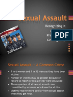 Sexual Assault 2011