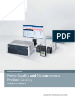 Power Quality and Measurements Product Catalog SR 10 Edition 2