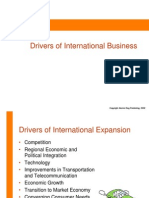 Drivers of Global Business