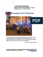 Gleason Fulbright Report on EU Civil Protection