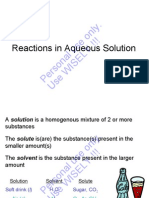 ITT Chng Ch 04 Reactions in Aqueous Solution
