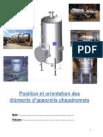 Position Et Orientation Des Elements Version Prof