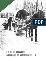 Etudes et documents Balkaniques - 8 ,1985