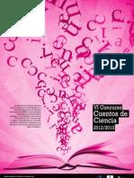 """Bases del VI Concurso """"Cuentos de Ciencia"""" (Curso 2012-2013)"""