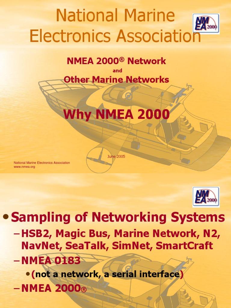 Nmea2000ppt Nmea 2000 T Connector Wiring Diagram
