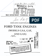 TM 9-1731B Ford Tank Engines (Models GAA, GAF, And GAN) 1945