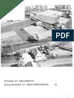 Etudes et documents Balkaniques et Mediterraneens - 18 , 1995
