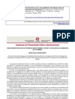 Cuadernos del Pensamiento Crítico Latinoamericano Nº 11 Conclusiones para una plataforma de debate sobre el Estado y sus roles en la eliminación de la pobreza
