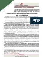 Cuadernos del Pensamiento Crítico Latinoamericano Nº 28  Elementos para pensar la reconfiguración del campo político boliviano