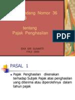 Hukum Pajak 8 PPh