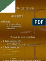 Bolile Genetice- Curs 10