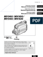 Manuale Di Istruzioni Per Videocamera CANON MV