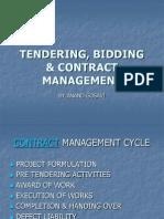 TENDERING, BIDDING & CONTRACT MANAGEMENT III powai.ppt
