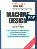 SCHAUM s Outline of Machine Design-1961