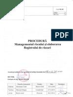 PG-02 Procedura Managementul Riscului Si Elaborarea Registrului de Riscuri