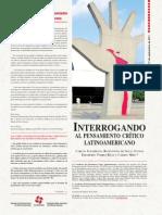 Cuadernos del Pensamiento Crítico Latinoamericano Nº46  Interrogando al Pensamiento Crítico Latinoamericano