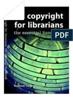 Copyright for Librarians