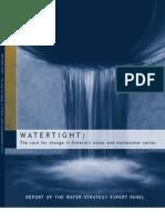 Watertight-Panel Report En