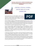 Crónica Juicio GRUPO DE LOS 24 (13-02-2013)
