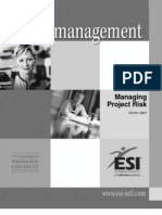 P03 Managing Project Risk