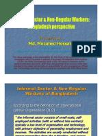 Informal Sector of Bangladesh