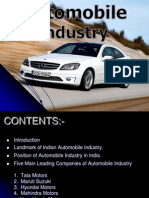 automobile industry in india 2011