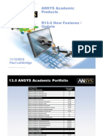 ANSYS Academic R13.0