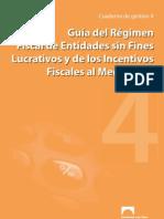Guía del Régimen Fiscal de Entidades sin Fines de Lucrativos