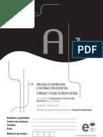 Expresion e Interaccion Escritas A1-DeLE