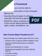 1-9 the Legal Framework