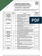 Ahmedabad Janmarg Limited 10012013