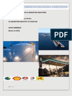 Analysis report for petroleum industry