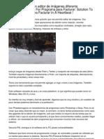 Phantasmagoria, un editor de imágenes diferente Strategies Of Programa para Facturar... How One Can Shoot Programa para Facturar In The Blink Of An Eye !.20130215.065138