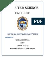supermarket billing system