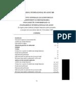 ISA-200 - Obiective generale ale auditorului independent şi desfăşurarea unui  audit în conformitate cu standardele internaţionale de audit