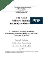 Asian Military Balance 2003(CSIS)