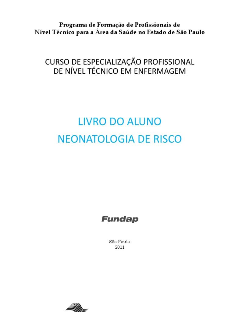 Livro Do Aluno Neonatologia e Risco 1698e1e8b3