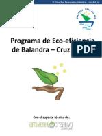 Programa de Ecoeficiencia Balandra
